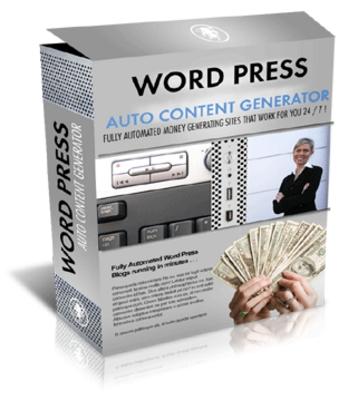 Product picture Wordpress Auto Content Generator