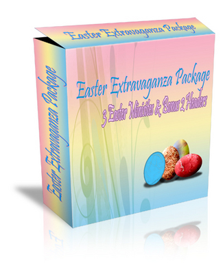 Product picture Easter Extravaganza Graphics Package