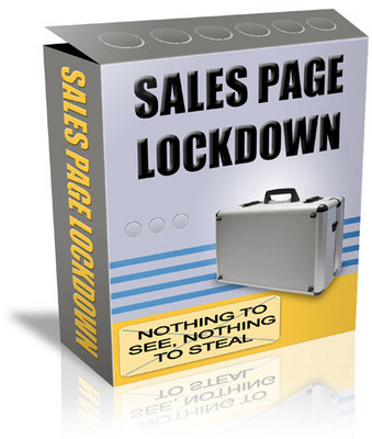 Product picture Sales Page Lockdown