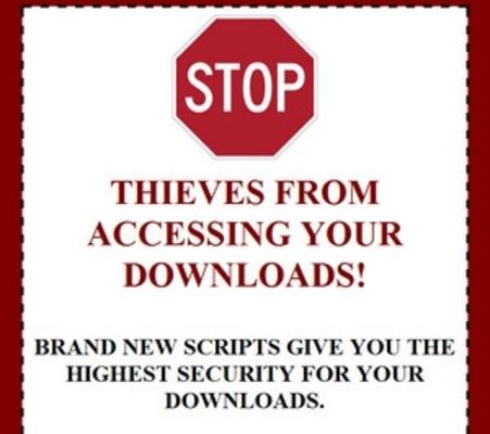 Product picture Download Protection Script - PLR