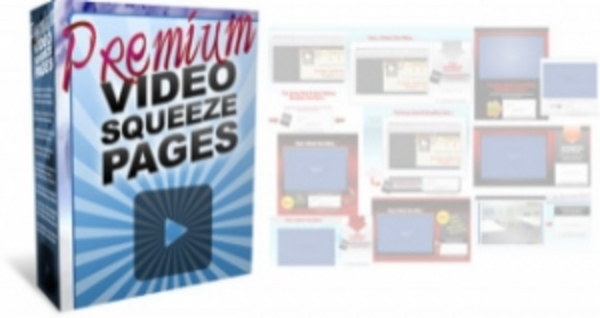 Product picture Premium Video Squeeze Pages -(263MB Downl