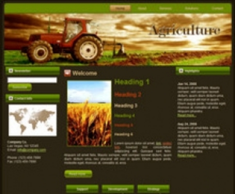 Product picture Tractor WP Theme