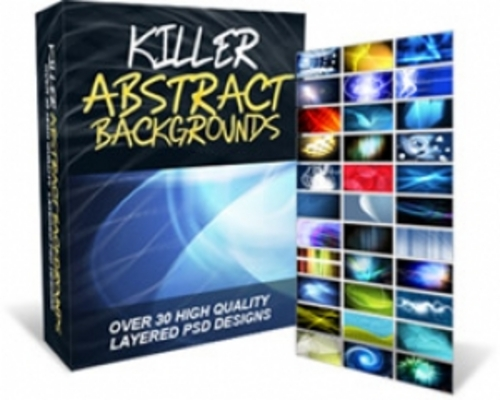 Product picture Killer Abstract Backgrounds