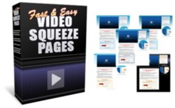 Product picture FAST And EASY Video Squeeze Pages