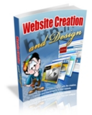 Product picture Website Creation and Design Ebook