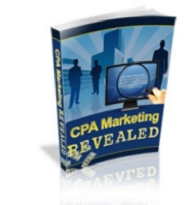 Product picture CPA Marketing Revealed Ebook
