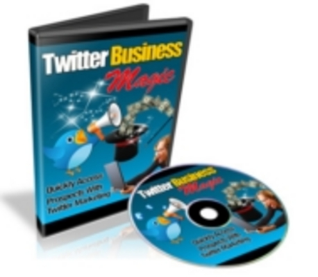 Product picture Twitter Business Magic Video Course