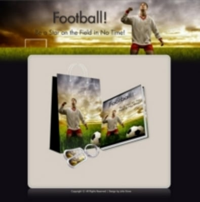 Product picture Football American Soccer Niche Site 3